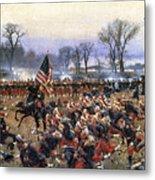 Battle Of Fredericksburg - To License For Professional Use Visit Granger.com Metal Print