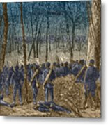Battle Of The Wilderness, 1864 Metal Print