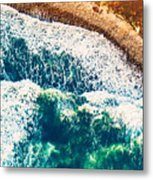 Beach Background Metal Print