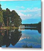 Beautiful Bunn Lake - Zebulon, North Carolina Metal Print