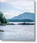 Beautiful Landscape In Alaska Mountains  Metal Print