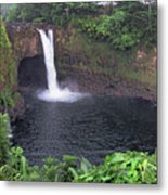 Beautiful Rainbow Falls 2 Metal Print