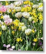 Beautiful Spring Flowers Metal Print
