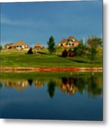 Bell Cow Lake Metal Print