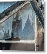 Belmont Window And Screen 1627 Metal Print