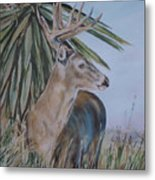 Berry Buck Metal Print