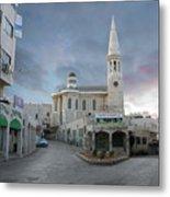 Bethlehem - Al Madbasa Street Metal Print
