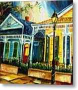 Big Easy Neighborhood Metal Print