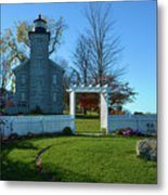 Big Sodus Lighthouse Metal Print