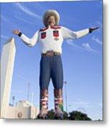 Big Tex In Dallas Texas Metal Print
