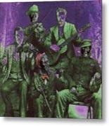 Bird Cage Theater Musicians Number 2 Tombstone Arizona Circa 1890-2009 Metal Print