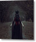 Black Queen Metal Print