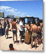 Black Sea Resort 1969 Metal Print
