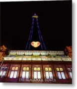 Blackpool Tower Metal Print