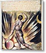 Blake: Jerusalem, 1804 Metal Print