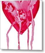 Bleeding Heart Metal Print