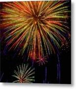 Blooming Fireworks Metal Print