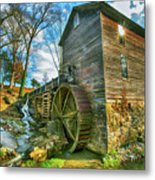 Blowing Cave Mill Near Smoky Mountains Of East Tennessee Metal Print
