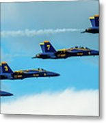 Blue Angels Formation  Metal Print