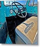Blue Ford Pickup Truck Metal Print