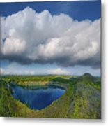 Blue Lake Metal Print