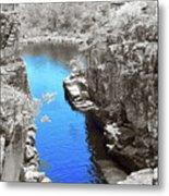 Blue River Metal Print