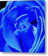 Blue Romance Metal Print