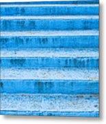 Blue Steps Metal Print
