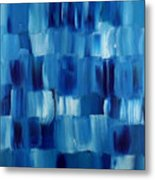 Blue Thing Metal Print by KR Moehr