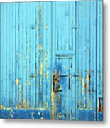 Blue Yonder Metal Print