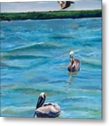 Boating In Fort Myers Metal Print