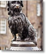 Bobby Statue, Edinburgh, Scotland Metal Print