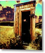 Bodie Outhouse Metal Print