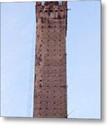 Bologna Tower Metal Print