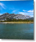 Bow Valley Campground Metal Print