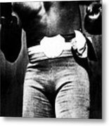 Boxer Jack Johnson, Ca. 1910s Metal Print