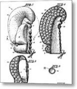Boxing Glove Patent 1944 Metal Print