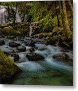 Brandy Creek Falls Metal Print