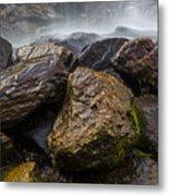 Bridal Veil Falls - Highlands, Nc Metal Print
