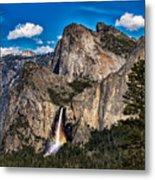 Bridalveil Falls Rainbow #2 Metal Print