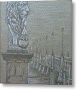 Bridge Of Lions Metal Print