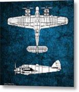 Bristol Beaufighter Metal Print