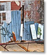 Brooklyn Scene Metal Print