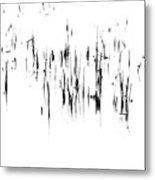 Brushstrokes Metal Print