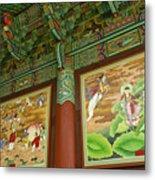 Buddhist Murals Metal Print
