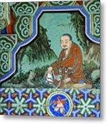 Buddhist Temple Art Metal Print