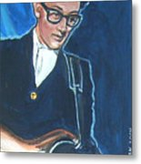 Buddy Holly Metal Print