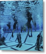 Buds Students Participate In Underwater Metal Print
