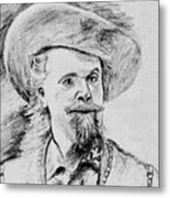 Buffalo Bill Metal Print