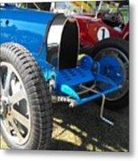 Bugatti Racer Metal Print